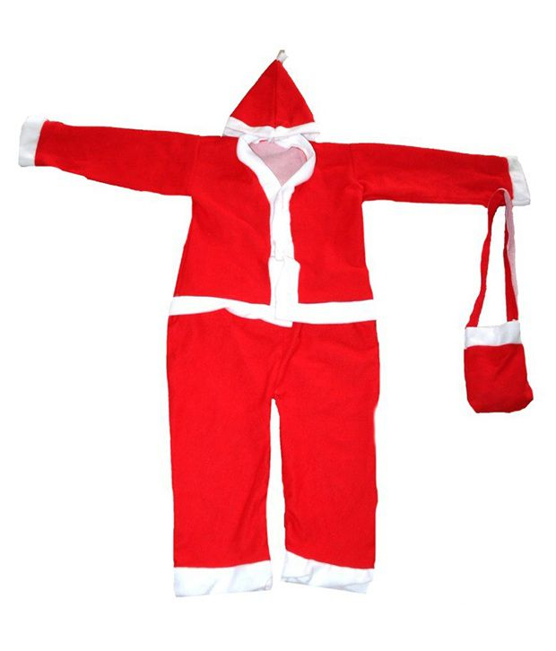 161a0f7a7 Partyhut Christmas Santa Clause Dress For 1-2 Years Old Child: Buy Partyhut Christmas  Santa Clause Dress For 1-2 Years Old Child at Best Price in India on ...