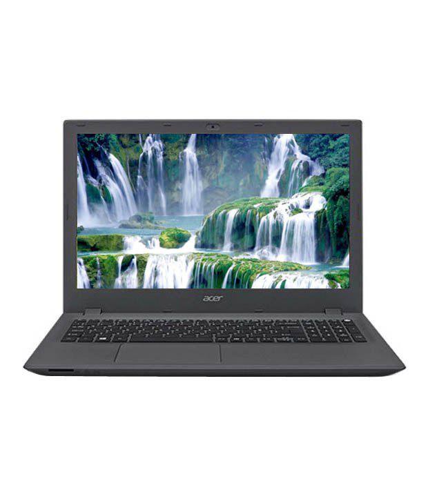 Acer Aspire E5-573-530F Notebook (NX.MVHSI.034)(5th Gen Intel Core i5- 4 GB RAM- 1 TB HDD- 39.62cm (15.6)- Linux) (Charcoal Grey)