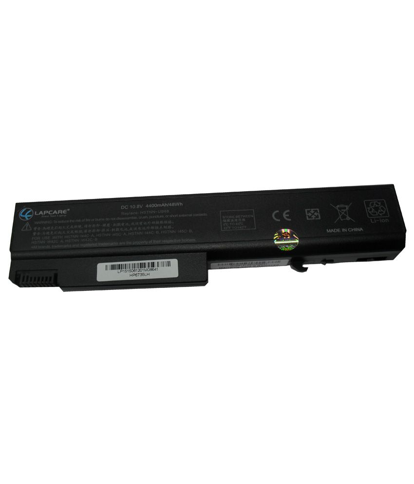 Lapcare 4400 mAh Laptop Battery For HP P/N. HSTNN-UB68 With Actone Data Cable