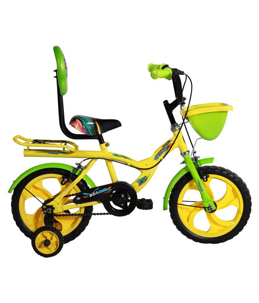42c04ba6376 BSA Champ Rocky Yellow and Green Kids Bicycle: Buy Online at Best Price on  Snapdeal