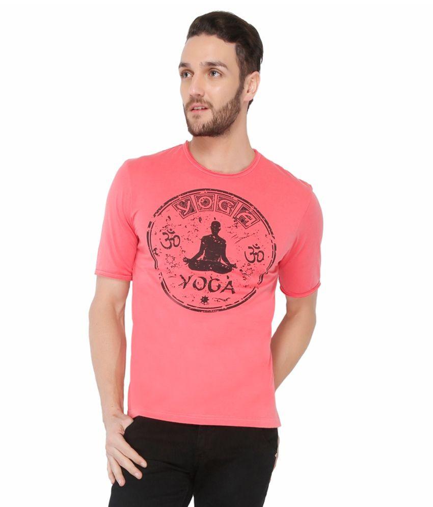 Dbox Pink Cotton T-Shirt