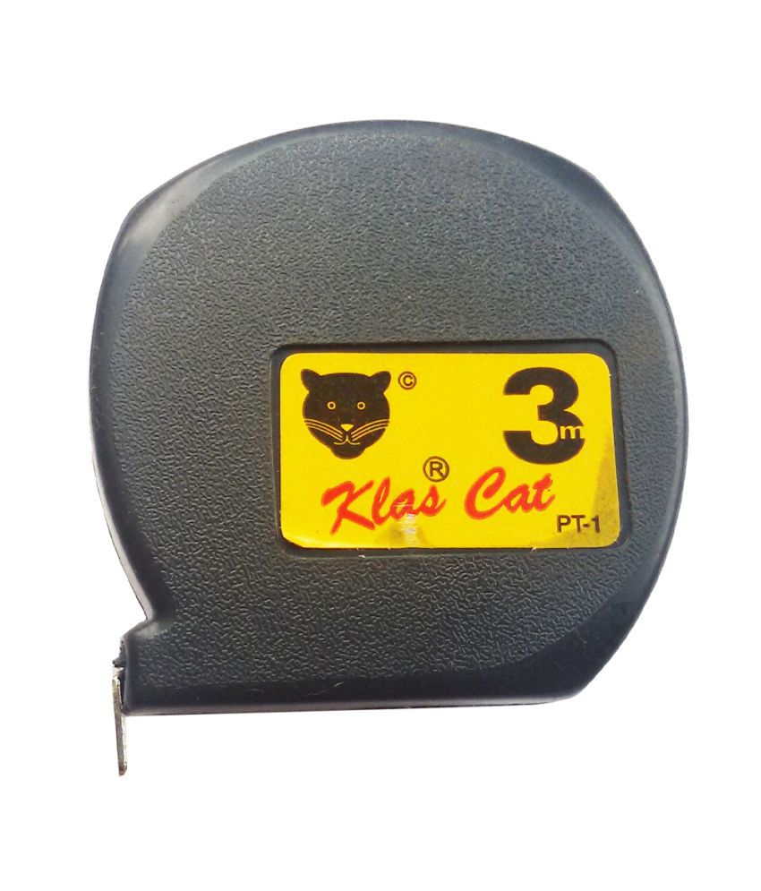 Klas Cat Black 3MTR Measuring Tapes - Pack of 2: Buy Klas Cat ...