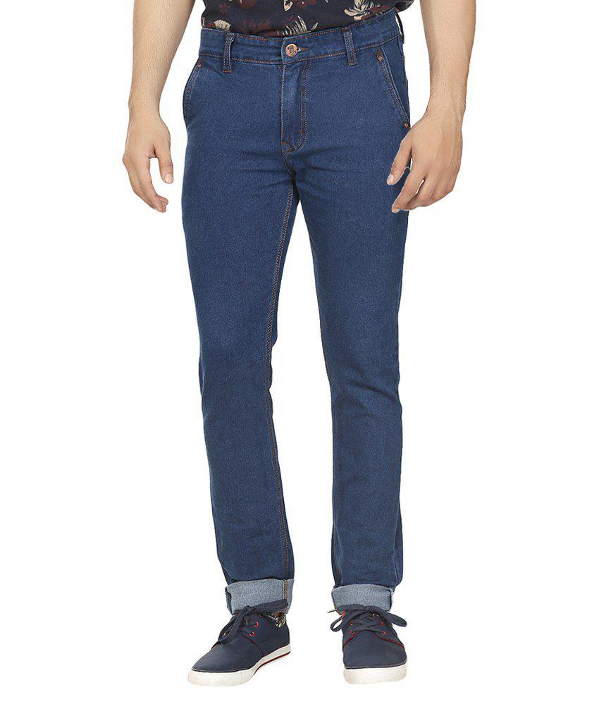 Magic Attitude Blue Slim Fit Jeans
