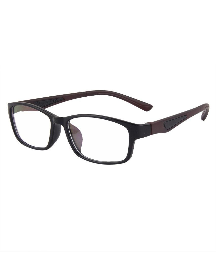 Hot N Cool Black Frame Rectangle Sunglasses