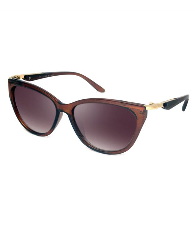 97d50f3fe2c3 Macv Eyewear Brown Cat Eye Sunglasses - Buy Macv Eyewear Brown Cat Eye Sunglasses  Online at Low Price - Snapdeal