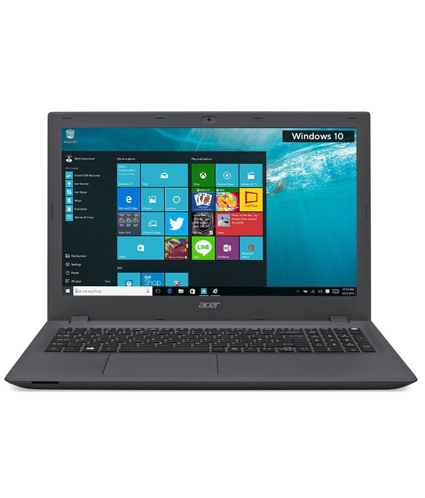 Acer Aspire E5-573-30L7 Notebook (NX.MVHSI.039) (5th Gen Intel Core i3- 4GB RA...