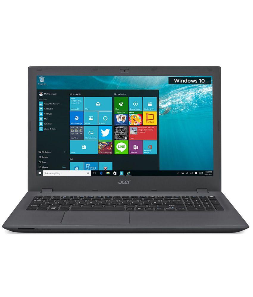 Acer Aspire E 15 E5-573G-389U Notebook (NX.MVMSI.036) (5th Gen Intel Core i3-5005U- 8GB RAM-1TB HDD-39.62 cm (15.6)- Windows 10- 2GB Graphics) (Charcoal Grey)