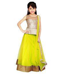 Najara Fashion Yellow Net Lehenga