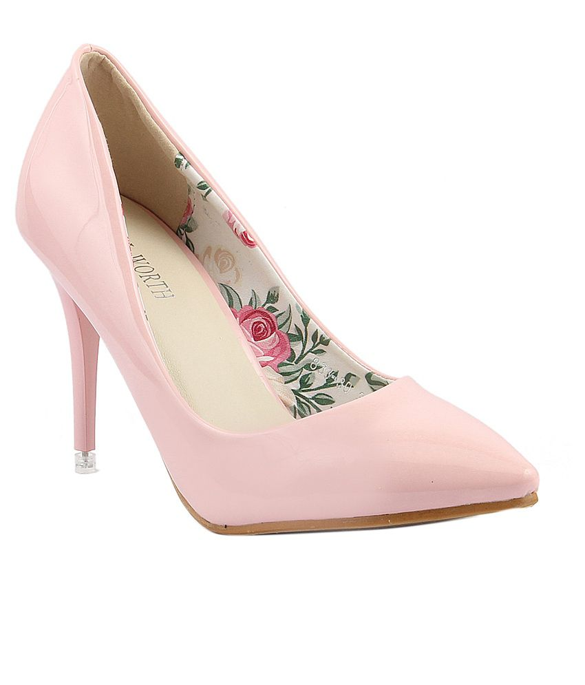 Wellworth Pink Stiletto Pumps