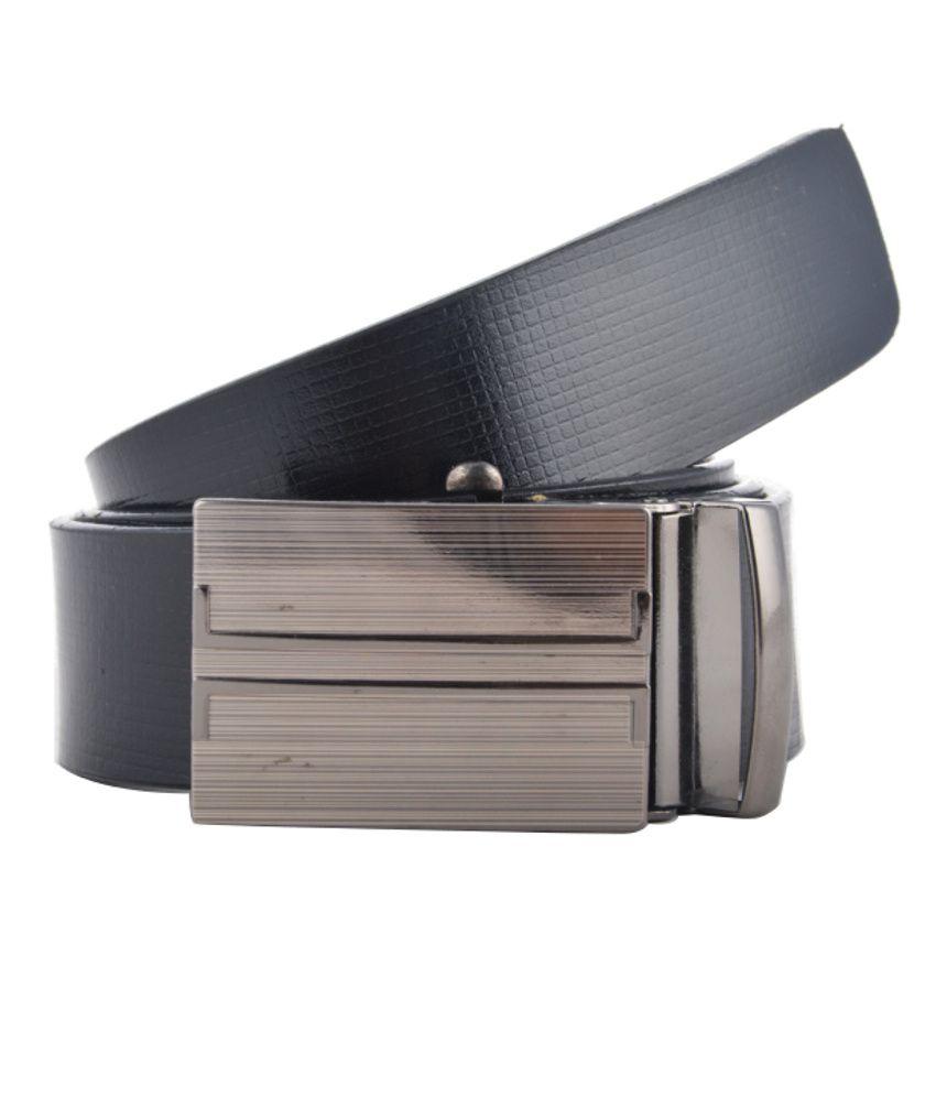Genuine Leather Belt Black Leather Formal Belt