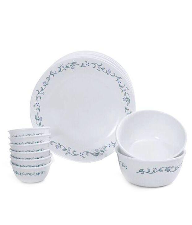 Corelle 14 Pcs Dinner Set-Livingware Country Cottage By Merahomestore