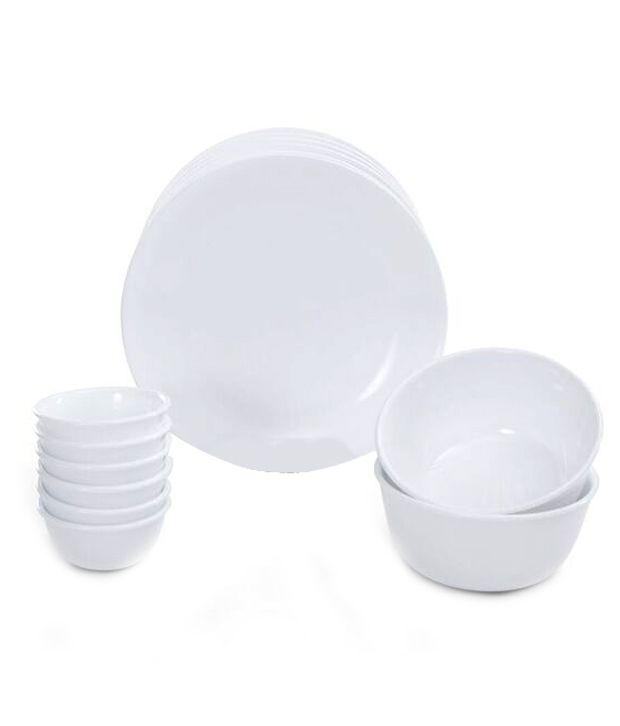 Corelle Livingware Winter frost white 14 Pcs Dinner Set