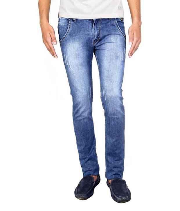 Intake Blue Slim Fit Jeans