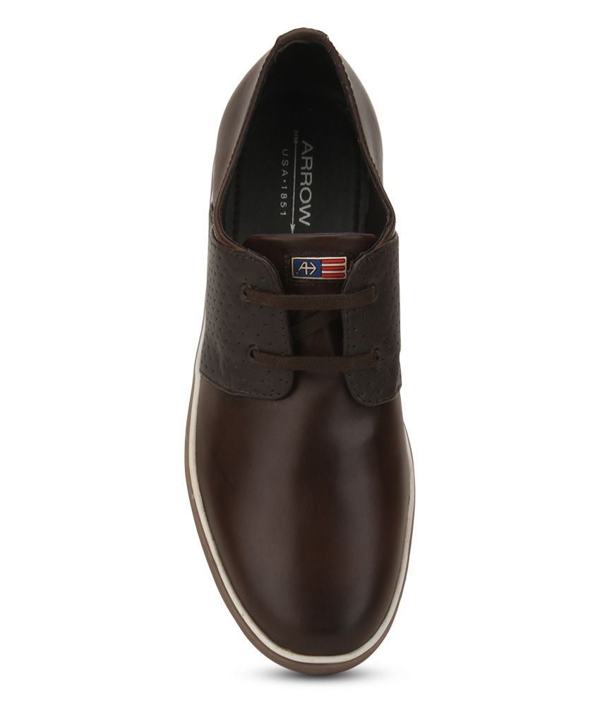 Arrow Brown Casual Shoes