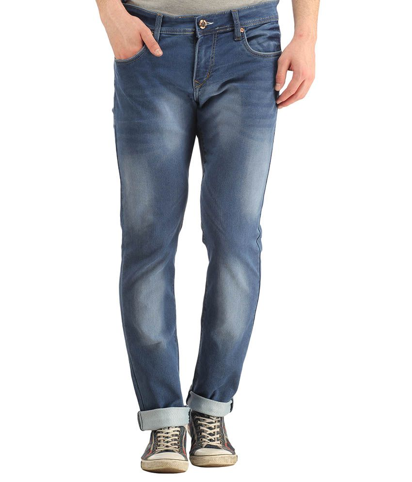 Spawn Blue Regular Fit Jeans