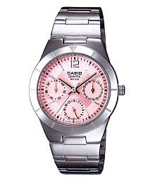 Casio A379 Classy Pink Dial Watch