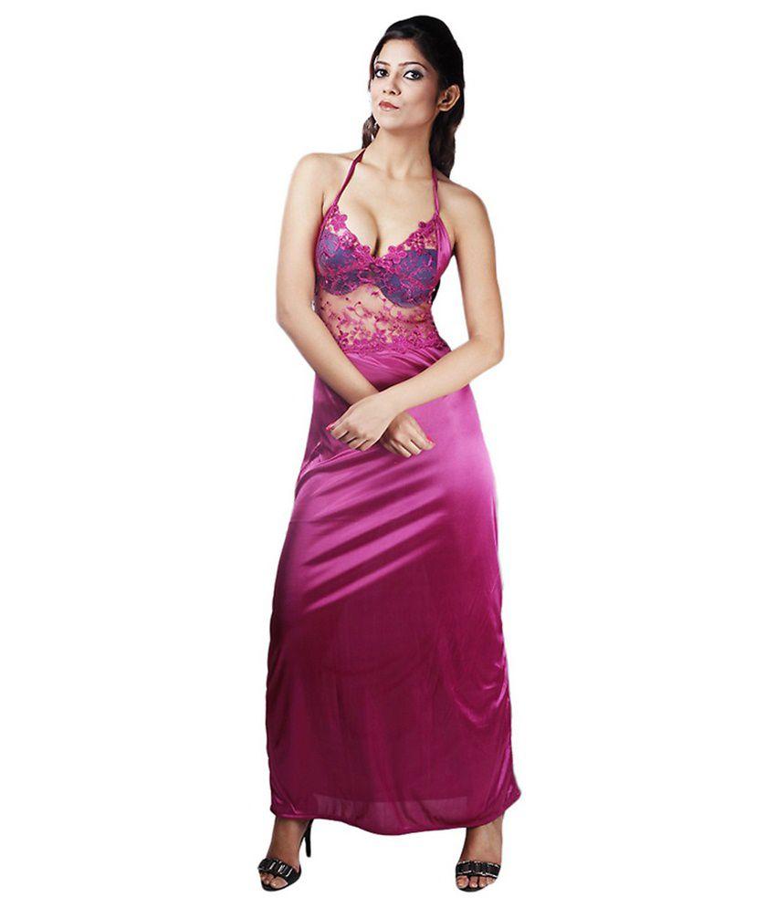 Boosah Satin Nighty Night Gowns