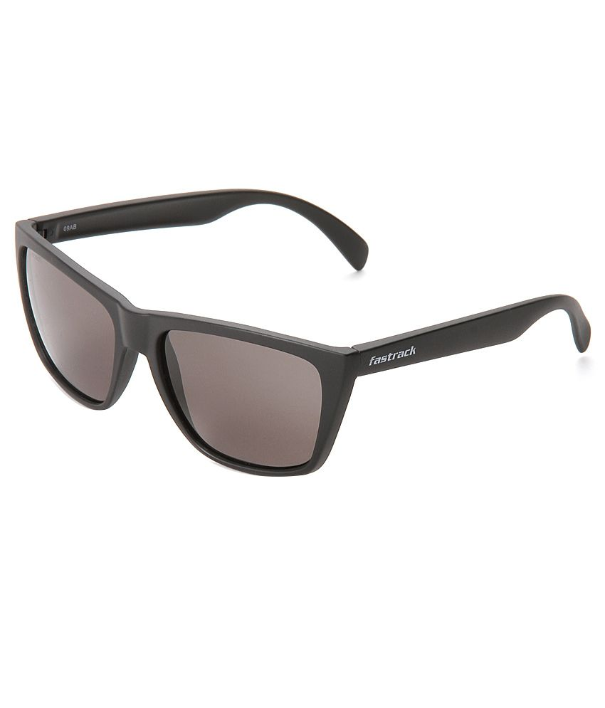 a0cd8d871c07 Fastrack P230BK1 Gray Wayfarer Sunglasses - Buy Fastrack P230BK1 Gray Wayfarer  Sunglasses Online at Low Price - Snapdeal