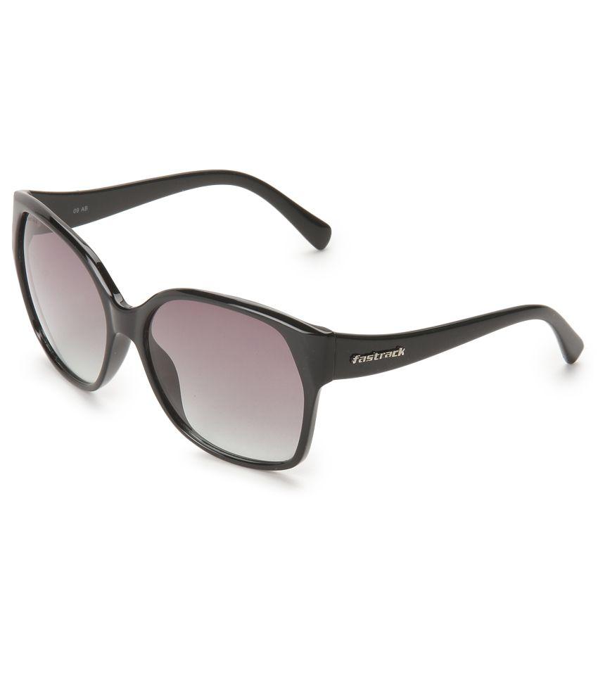 Fastrack P247GR1F Purple Cat Eye Sunglasses Art FTEP247GR1F
