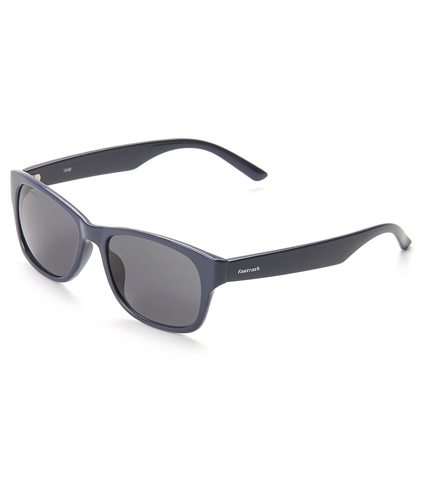 e7b61ca83dce Fastrack PC001BK21 Gray Wayfarer Sunglasses - Buy Fastrack PC001BK21 Gray Wayfarer  Sunglasses Online at Low Price - Snapdeal