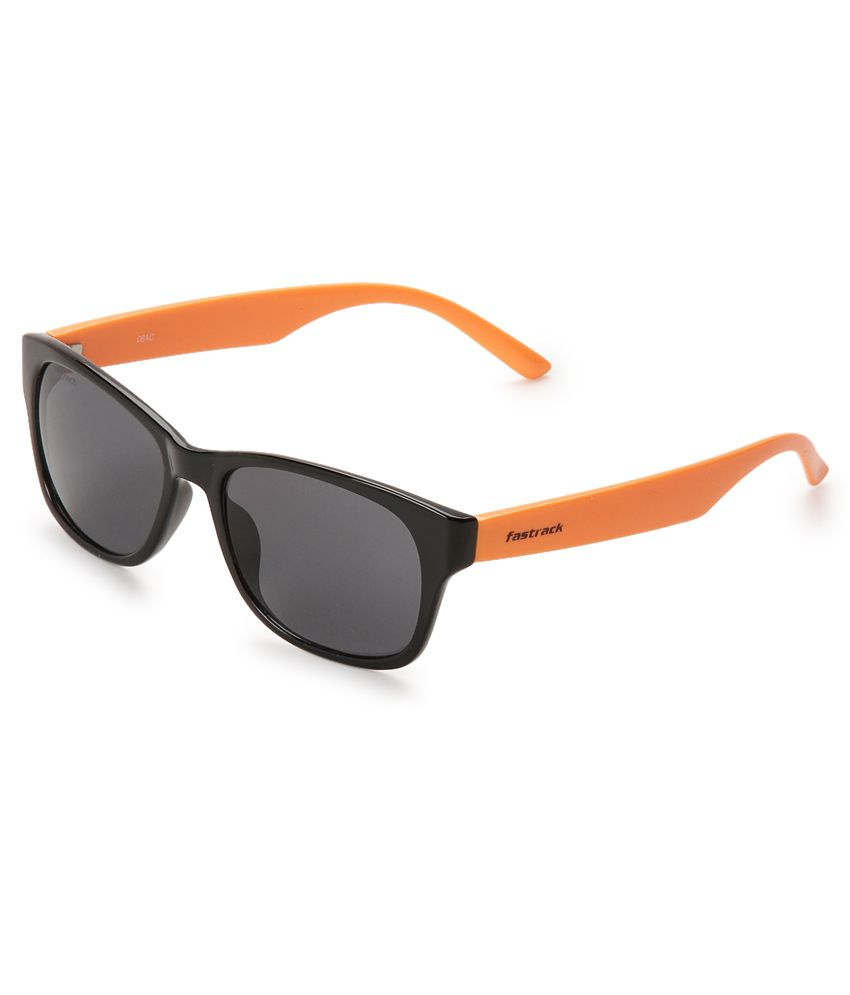 31a00cc434 Fastrack PC001BK4 Gray Wayfarer Sunglasses available at SnapDeal for Rs.950