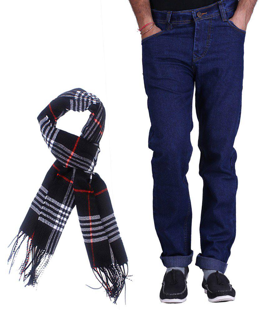 Kaasan Blue Slim Fit Jeans