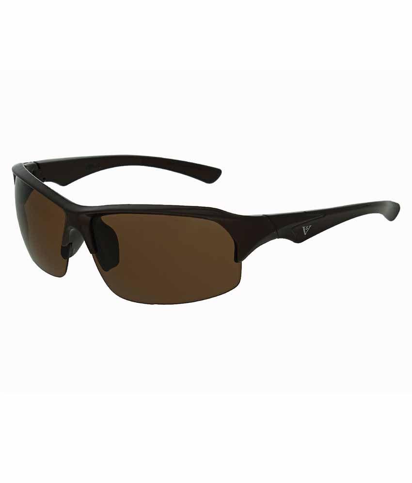 Vast Brown Sport Sunglasses For Men