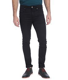 Jack & Jones Black Slim Fit Casual Trousers