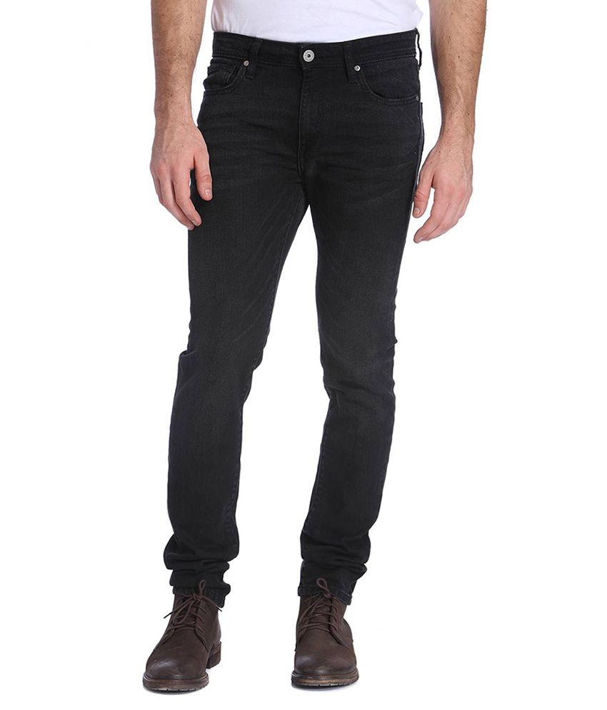 Jack & Jones Black Slim Fit Jeans