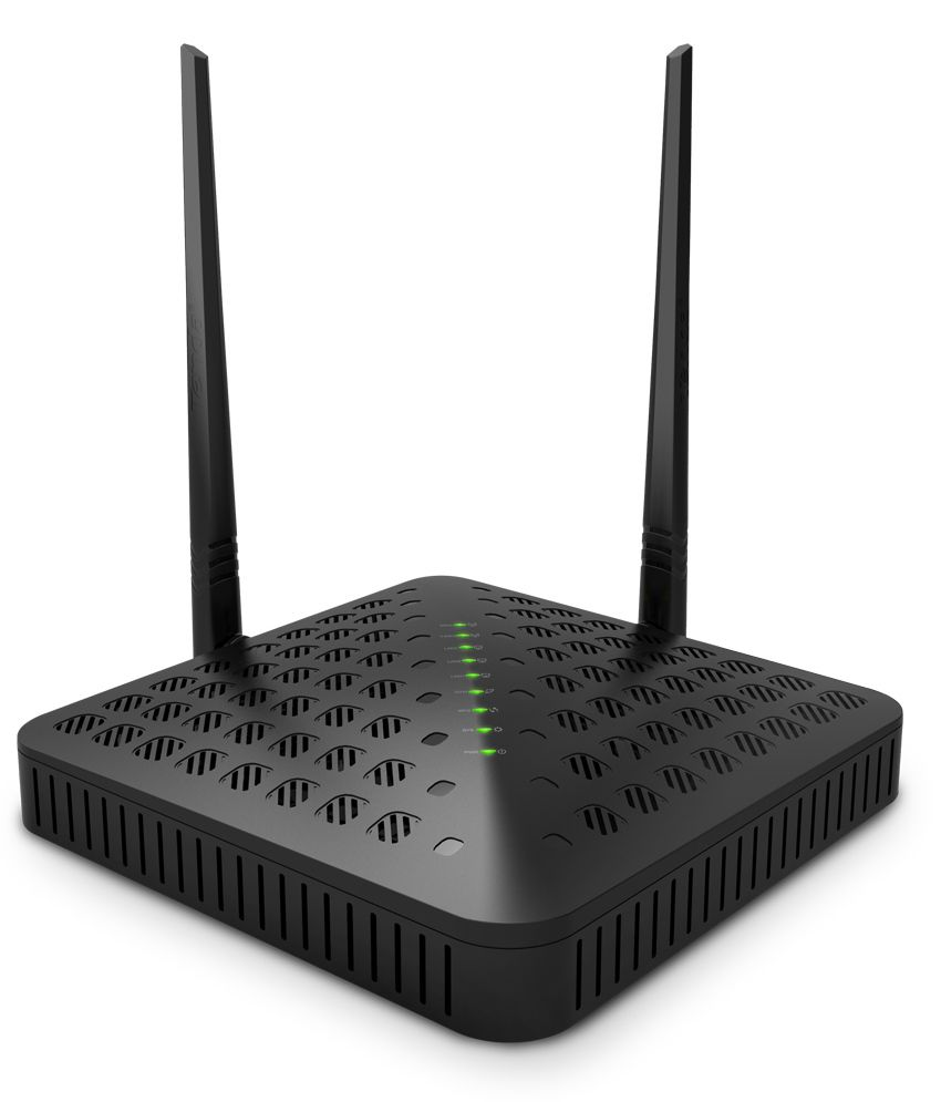 Tenda TE-FH1201 300 Mbps Wireless AC1200 Dual Band Gigabit High Power Router with 2 outdoor antenna