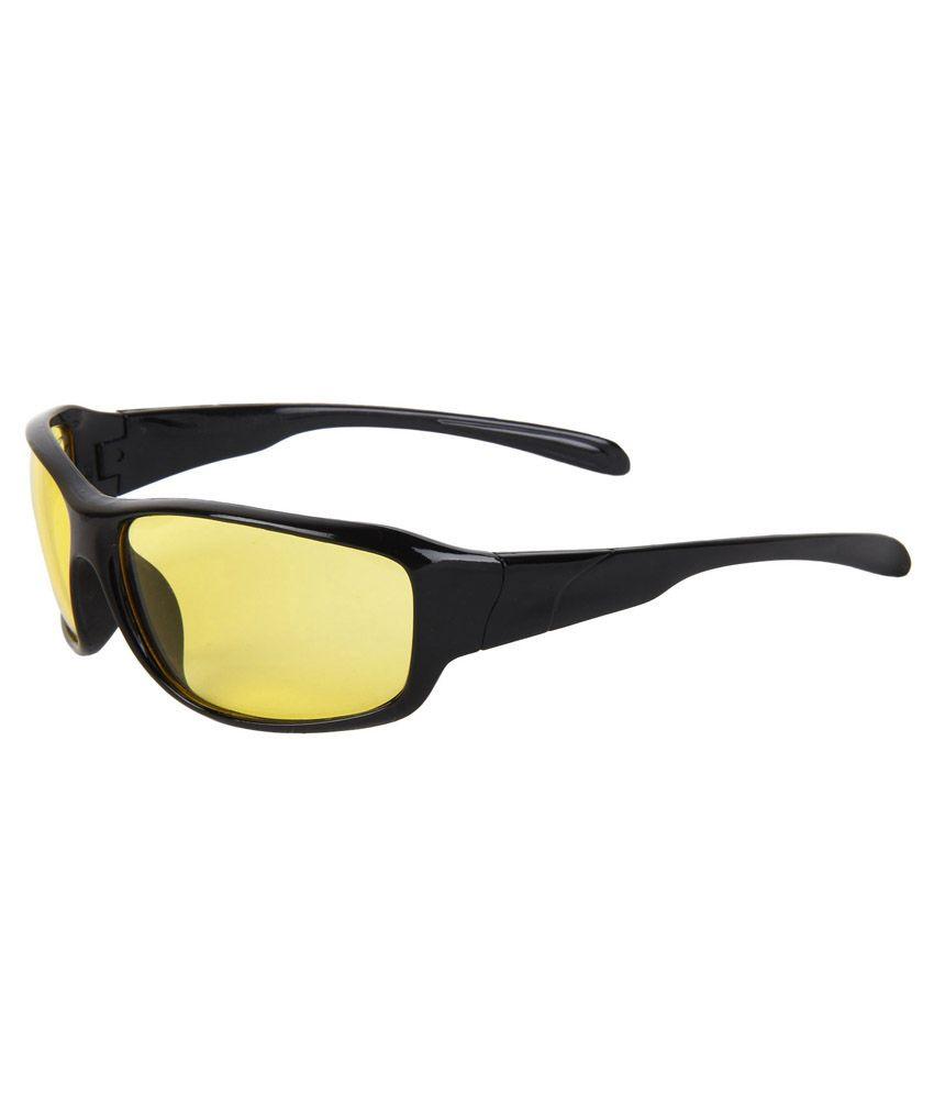Zyaden Nv36 Black Night Vision Unisex Sunglasses