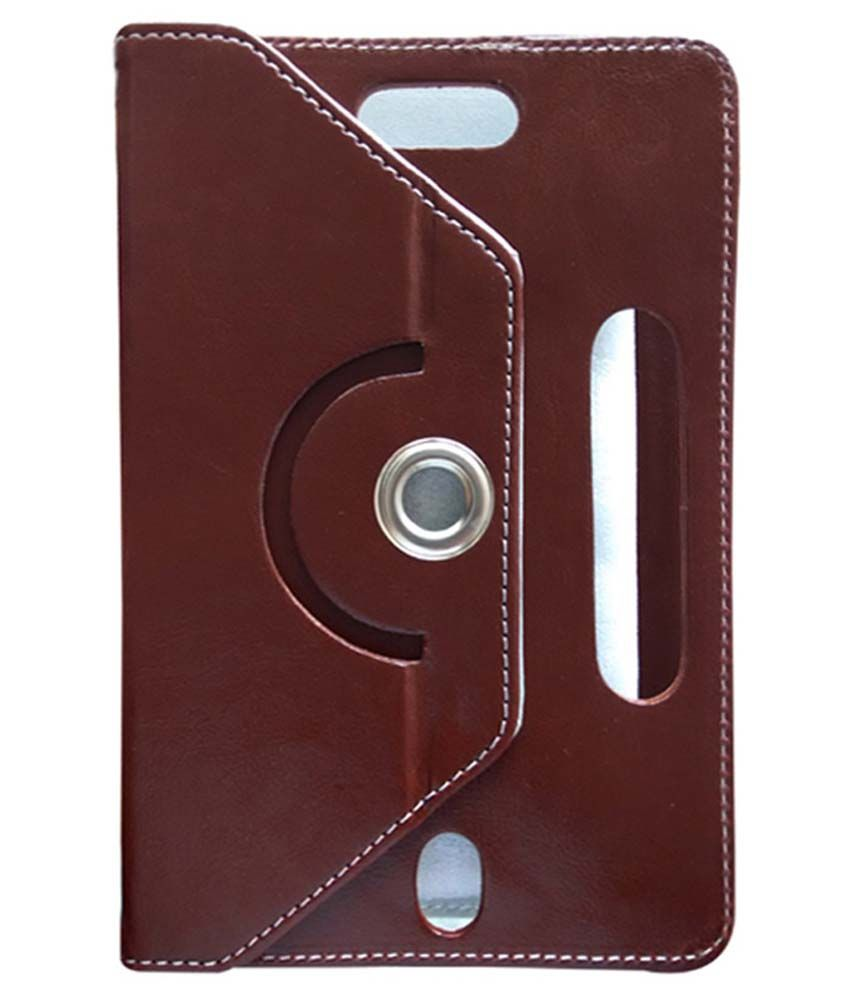 Fastway Flip Cover For Plum Z708 - Maroon
