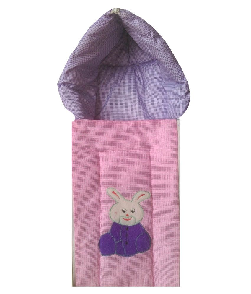 Udak Purple And Pink Cotton Sleeping Bag