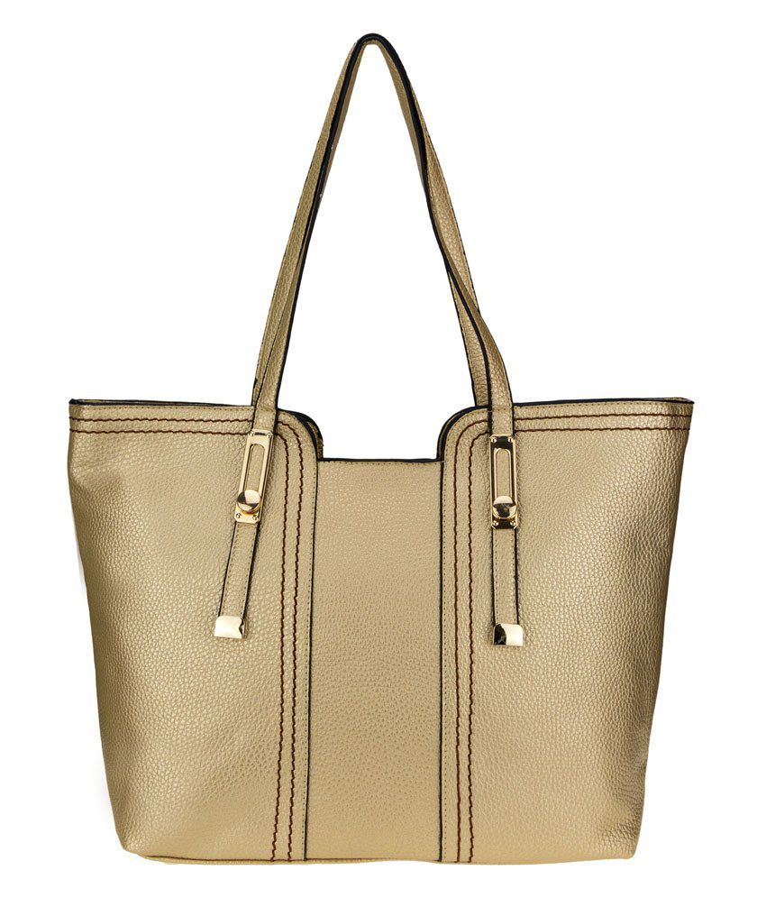 Genious Gold Shoulder Bags