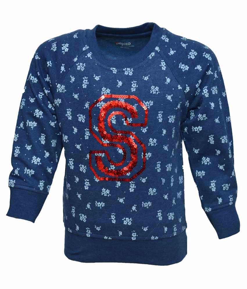 Pepito Navy Sweatshirt