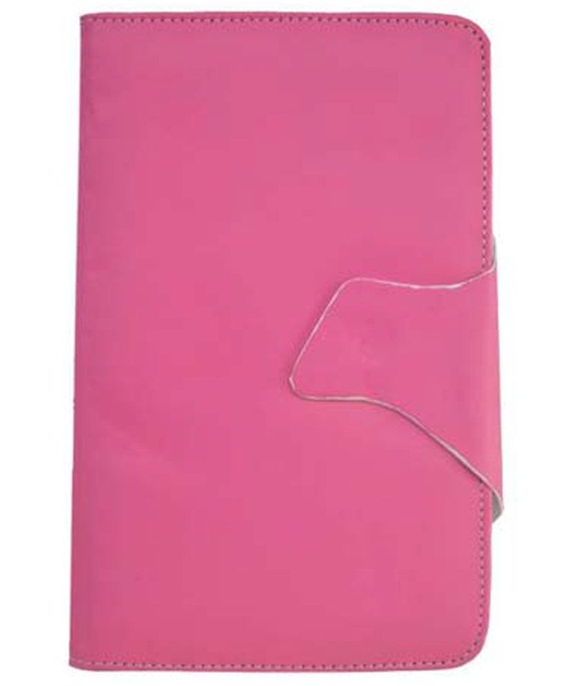 Vps Flip Cover For Blu Touch Book 7.0 Plus - Pink