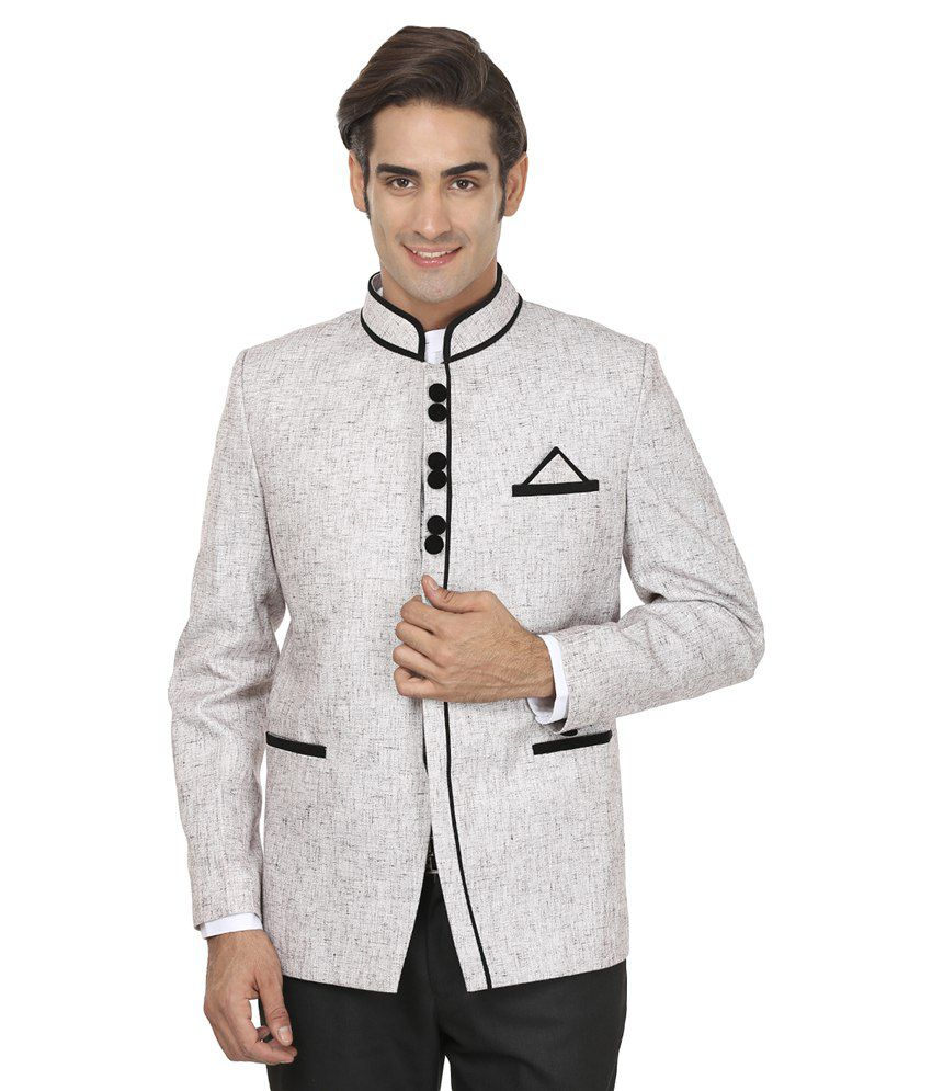 Wintage Grey Rayon Blazer Price in India on 25-10-2017 ...