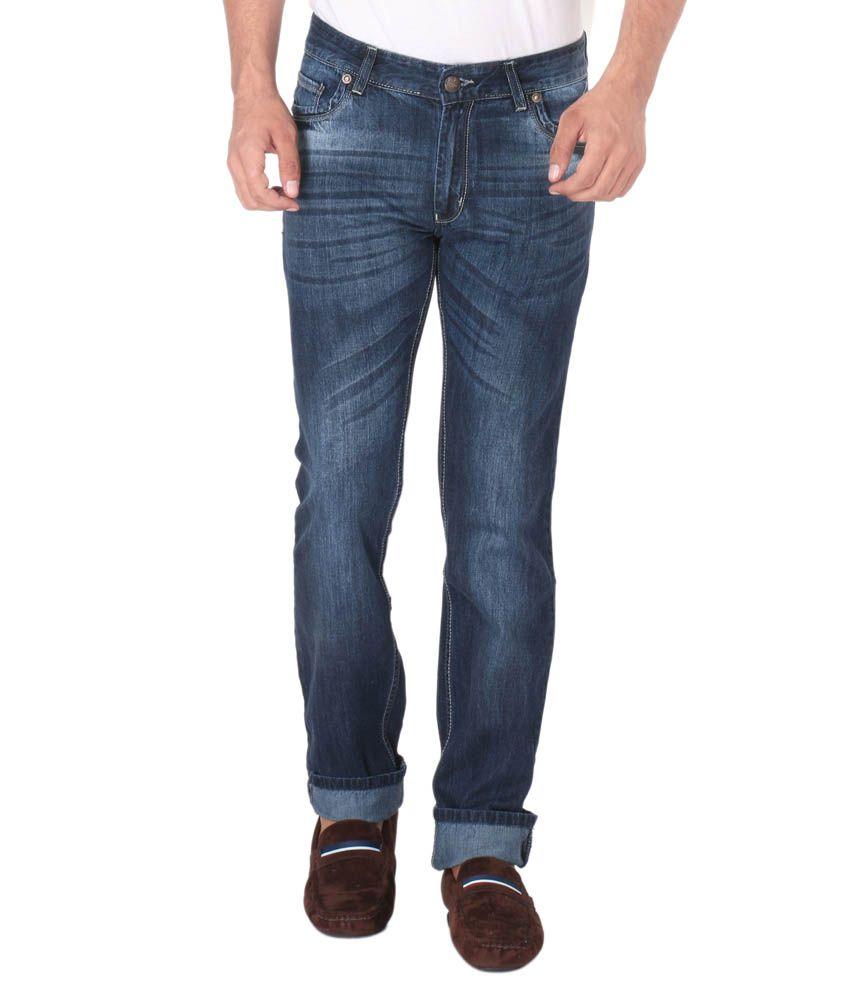 Donear Nxg Blue Slim Fit Jeans