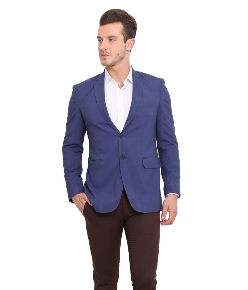Ennoble Blue Casual Blazer