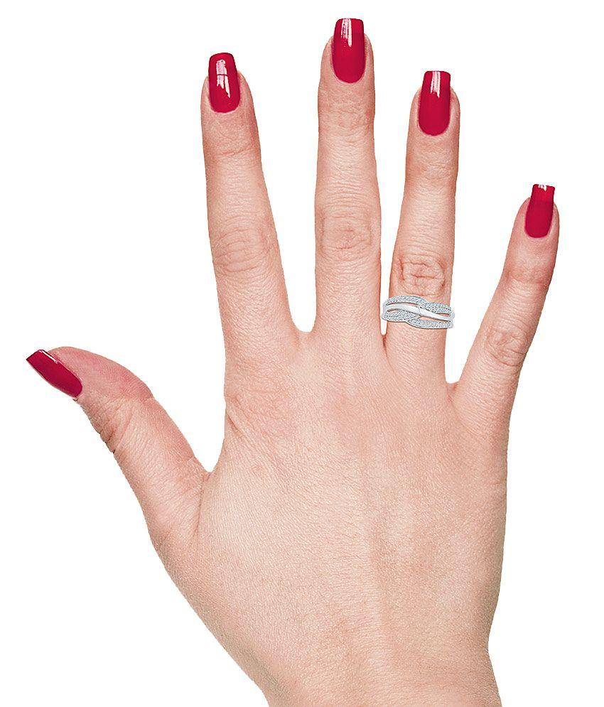 Radiant Bay Diamond Ring