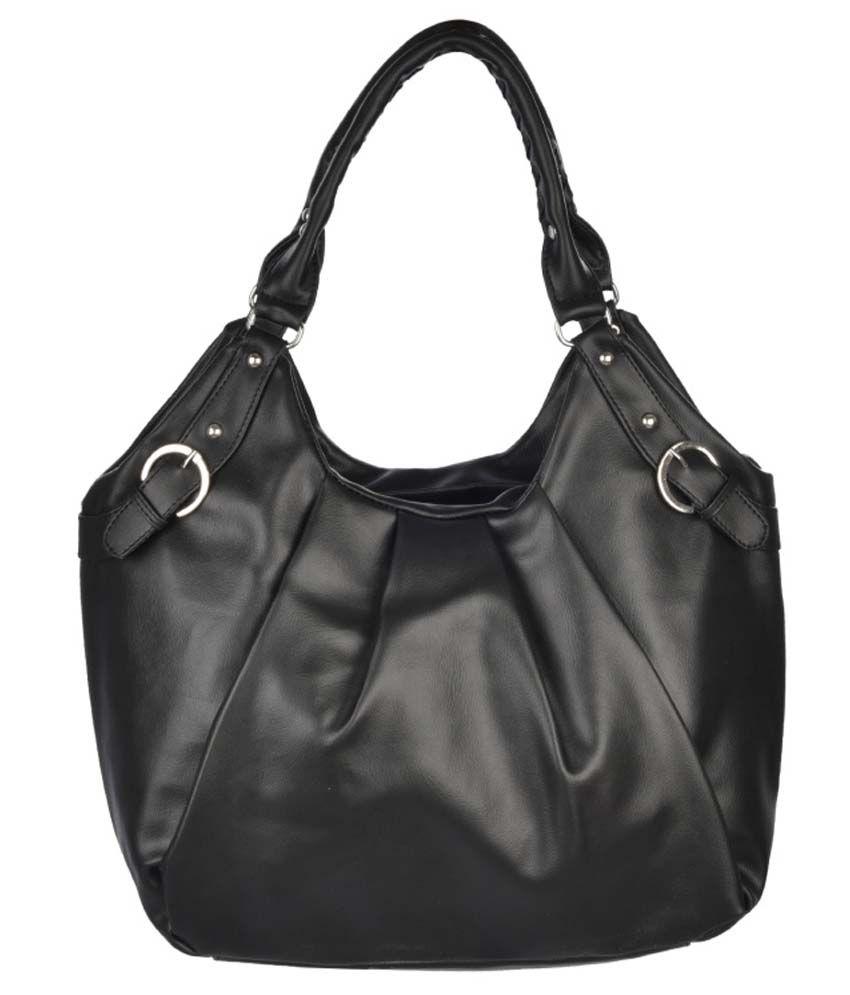 Fristo Black Shoulder Bag