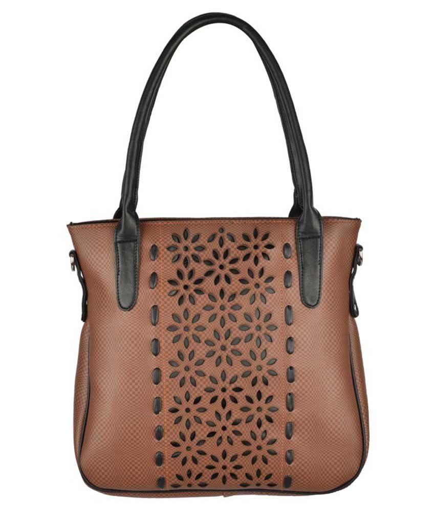 Fristo Brown Shoulder Bag