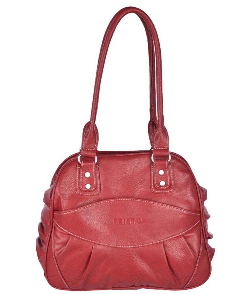 Fristo Maroon Shoulder Bag