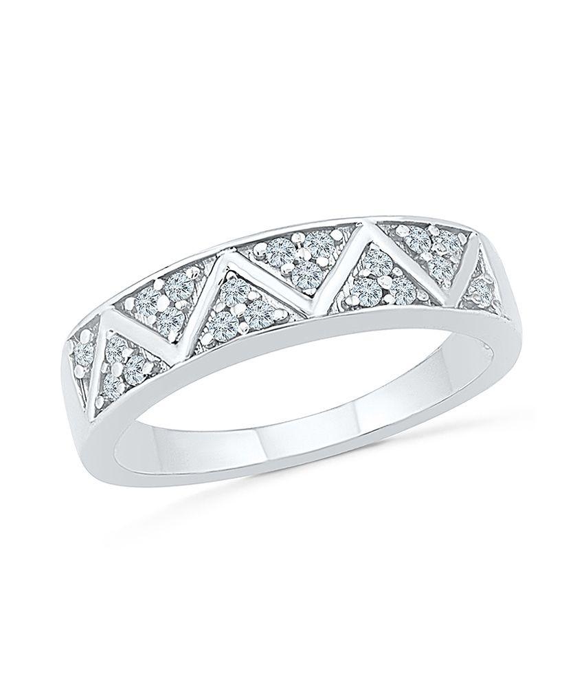 Radiant Bay 14Kt White Gold EGL Certified Diamond Ring