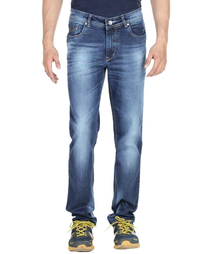 Red Rope Jeans Blue Slim Fit Jeans