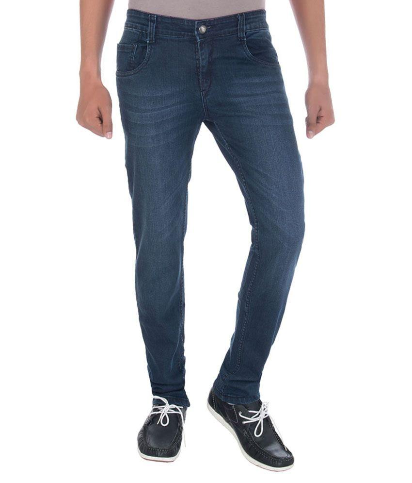 Tessodor Blue Slim Fit Jeans
