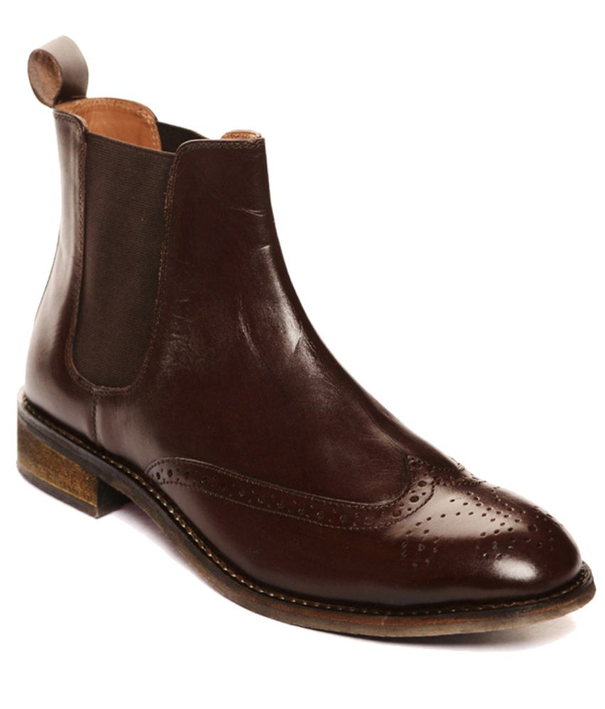 Bruno Manetti Substantial Brown Boots