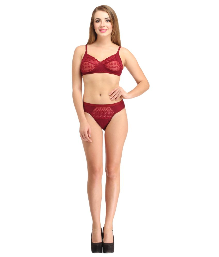 4be217cb00af Buy Lady Silk Cotton Bra & Panty Set Online at Best Prices in India -  Snapdeal