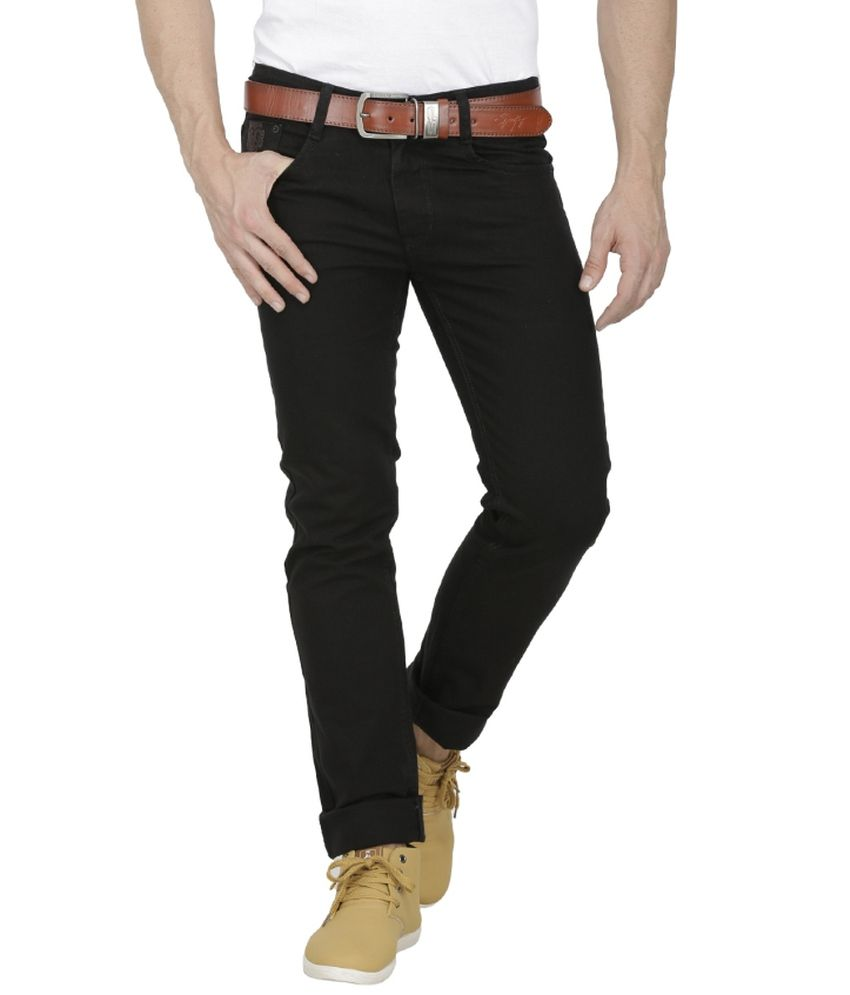 buy sale official supplier cheap for discount Sparky Black Slim Fit Jeans - Buy Sparky Black Slim Fit Jeans ...