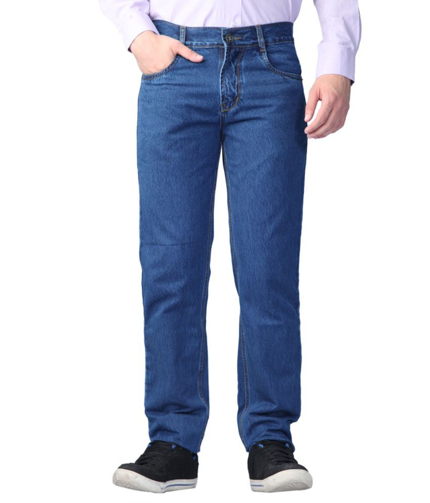 142fd700 Sparky Blue Slim Fit Jeans - Buy Sparky Blue Slim Fit Jeans Online at Best  Prices in India on Snapdeal